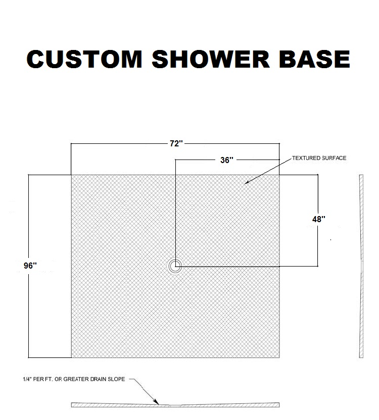 Alessa Shower Base Modern Shower Pans And Bases By Fleurco